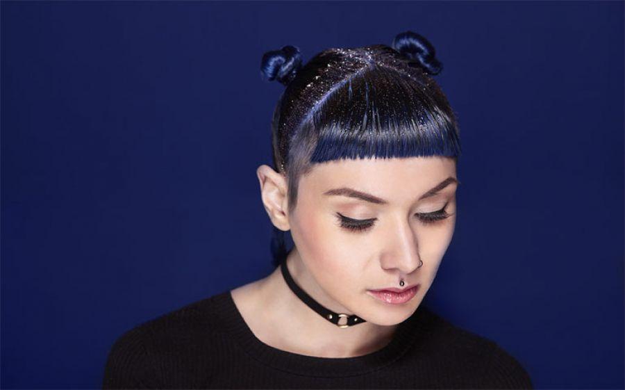 Glitter hair, per brillare ai party… fino alla punta dei capelli
