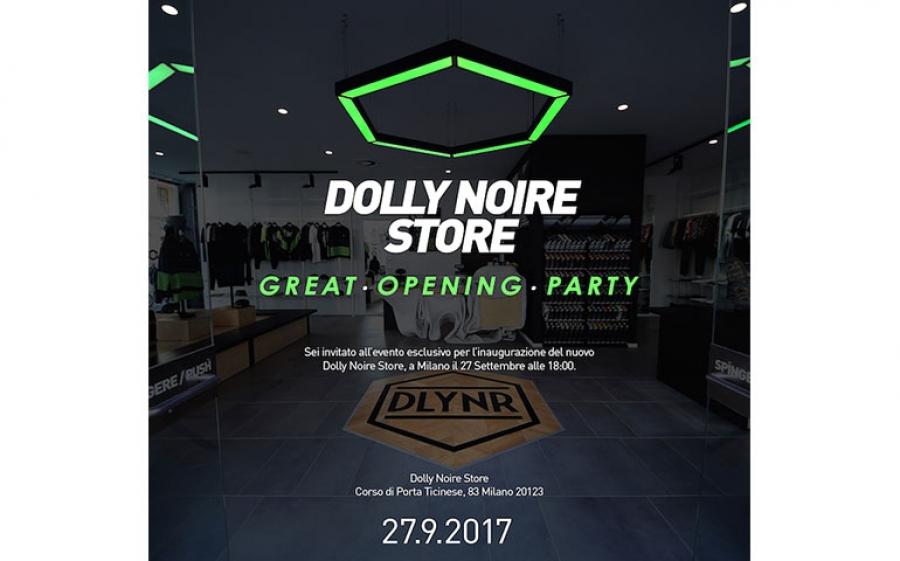 Dolly Noire è pronto a riconquistare Milano con l'apertura del suo nuovo Dolly Noire Store.