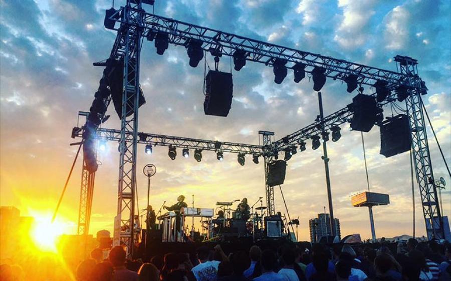 Arcade Fire all'Ippodromo di San Siro di Milano