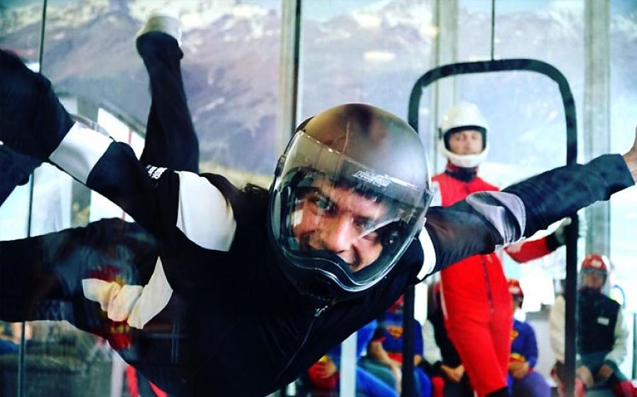 Aero Gravity a Milano per simulare una caduta da 4500 metri