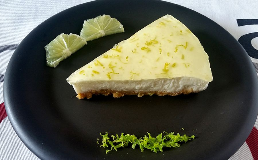 Lime cheesecake una torta per l'estate e senza cottura