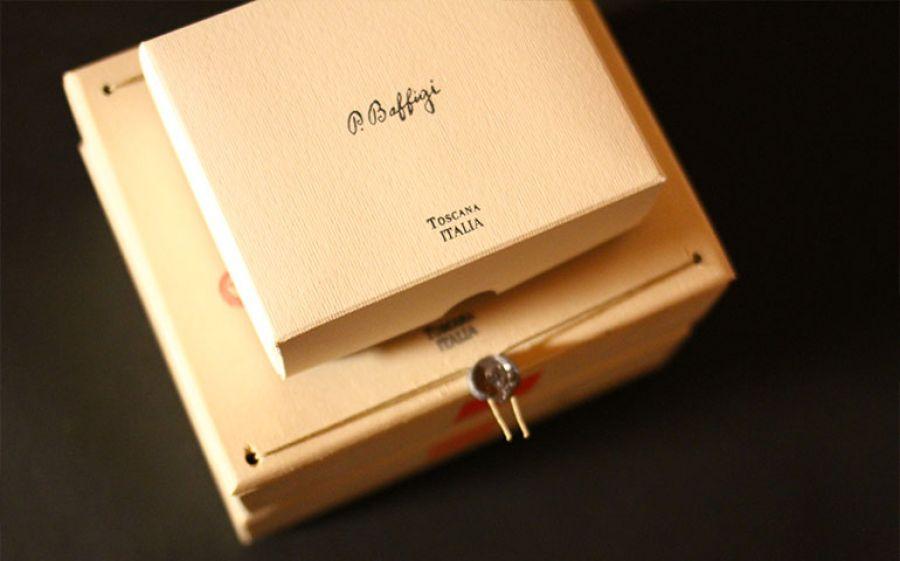 Biglietti da visita della Tipografia Baffigi: Una storia di lusso lunga un secolo