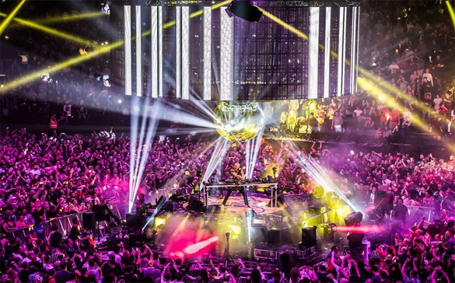 Fatboy Slim all'Ex Dogana di Roma per il Just Music Festival