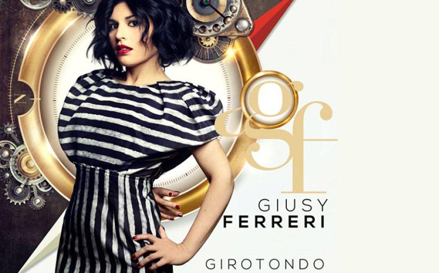Giusy Ferreri si lancia nel 2017 con il nuovo album Girotondo