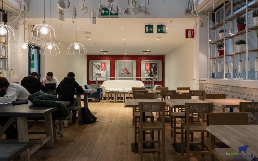 Nel Mondadori Megastore di via Marghera a Milano apre Mozzarella Bistrot di Fattorie Garofalo