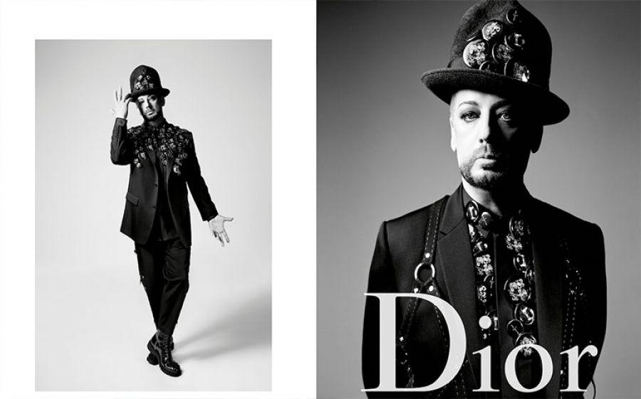 Boy George è il nuovo testimonial Dior Homme