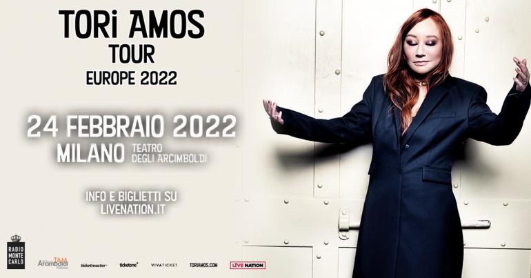 A Milano arriva Tori Amos