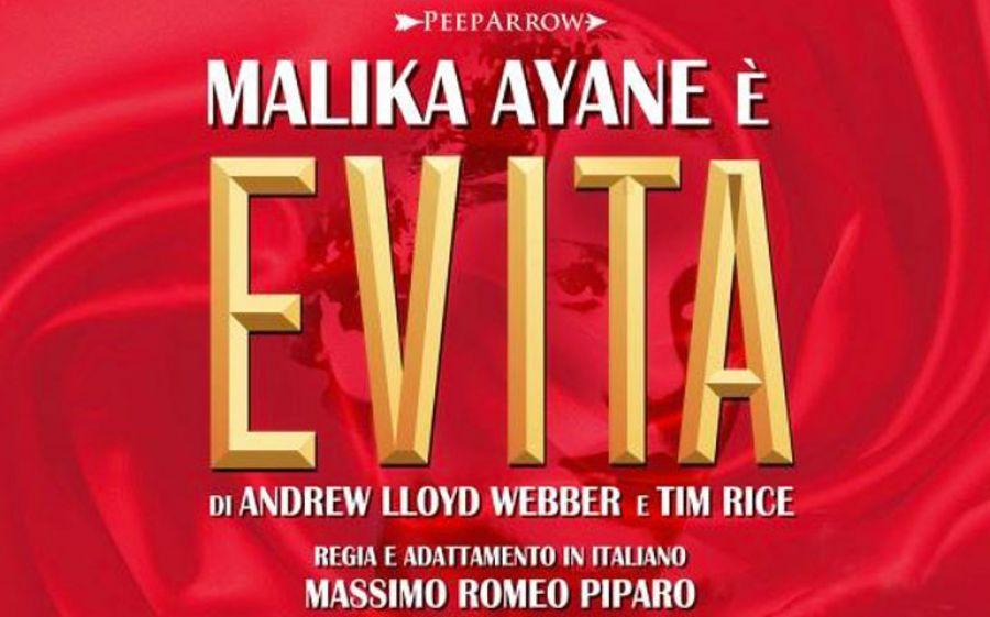 Malika Ayane è la protagonista del musical Evita in scena al Teatro della Luna di Assago