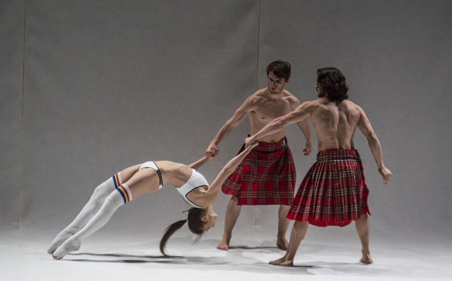 """""""Sylphidarium"""" al Teatro Franco Parenri di MIlao ph. Marco Caselli"""