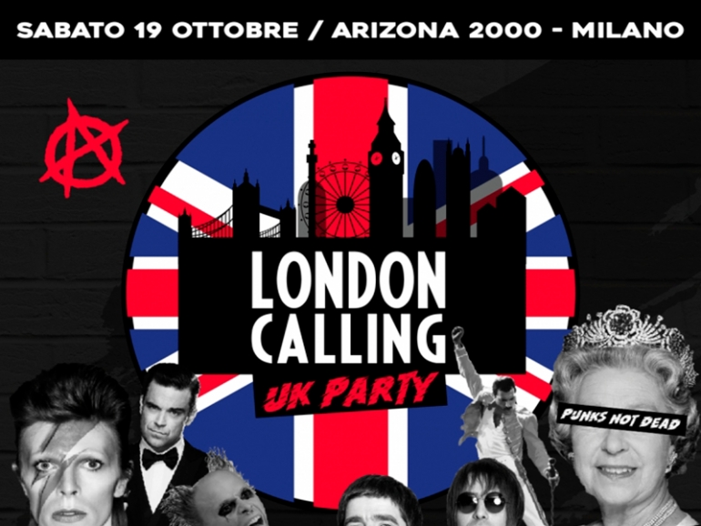 London calling UK Party: un po' di Londra a Milano