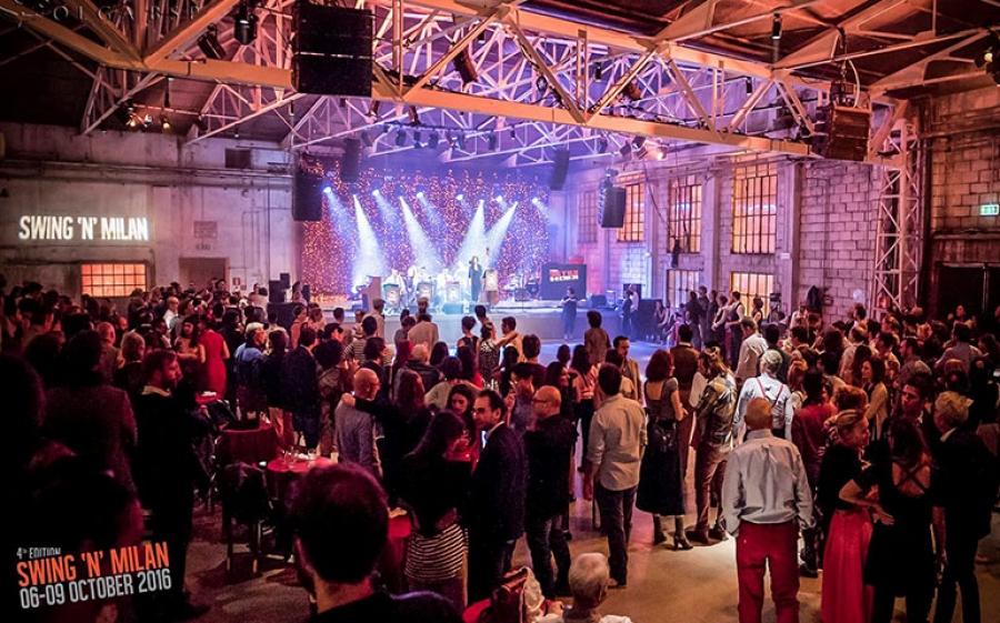 Lo Spirit de Milan si traforma nel festiva Swing'n'Milan, dove la musica regna sovrana