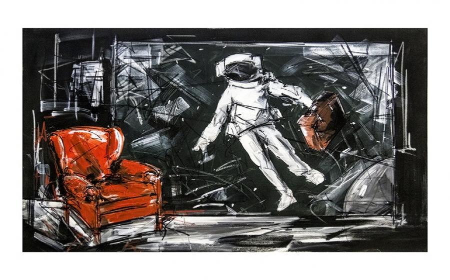 SUPERCALIFRAGILISTICEXPIALIDOCIUS, la mostra personale di Marco Tamburro alla 7ettanta6ei Gallery di Milano dal 28 febbraio