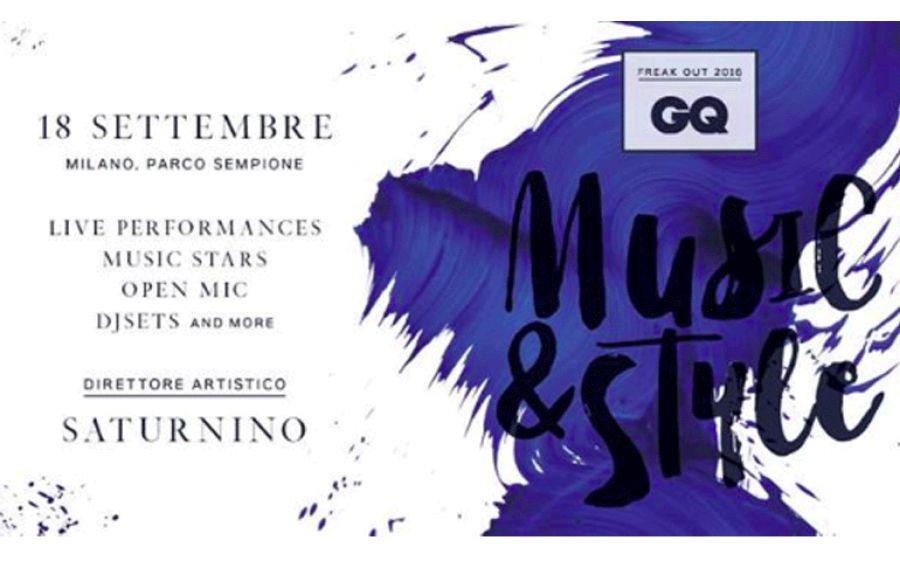 Freak Out GQ Music & Style, a Milano l'evento che unisce moda e musica