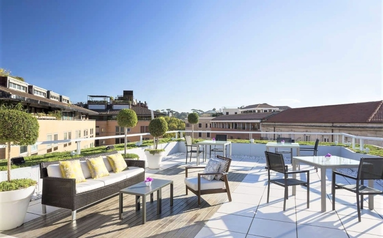 Pasqua chic all'aperto: le proposte di due storici alberghi Romani