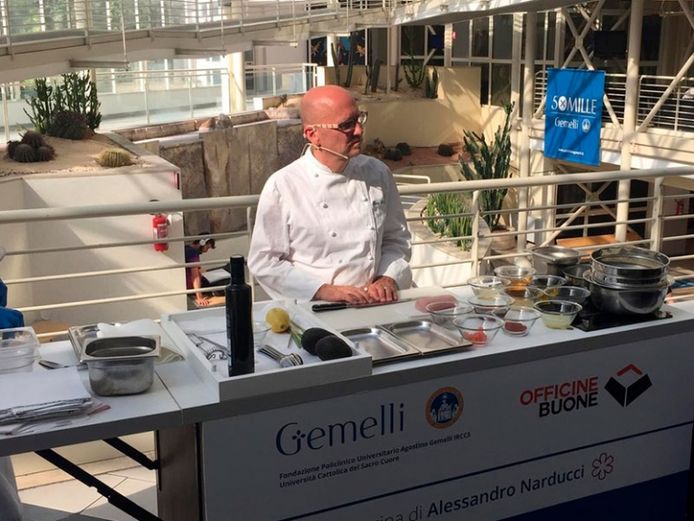 Special Cook –  Domani una nuova tappa all'Ospedale Niguarda di Milano
