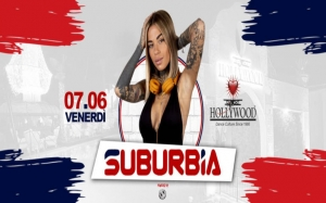 La serata Suburbia all'Hollywood Dinner&Dance