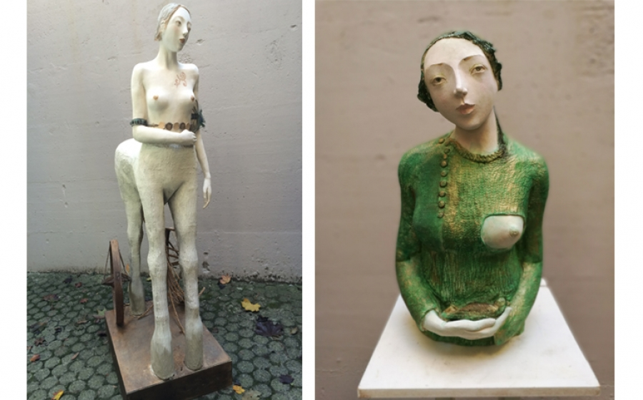 """Anime leggere"", in mostra a Piacenza le eteree sculture di Maria Cristina Costanzo"