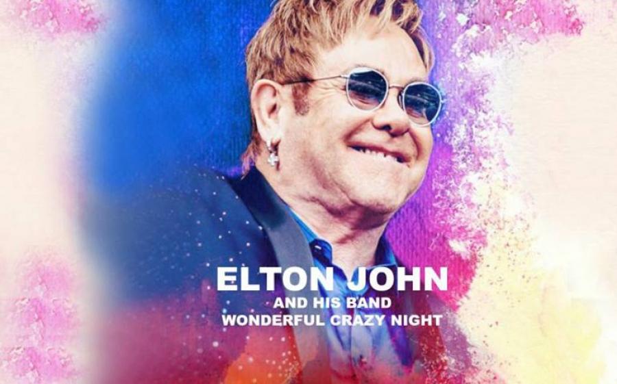 Elton John torna dal vivo in Italia a Mantova con il Wonderful Crazy Night Tour