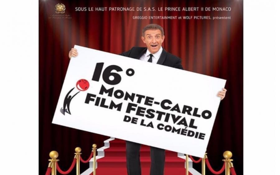Al via la sedicesima edizione del Monte-Carlo Film Festival de la Comédie diretto da Ezio Greggio