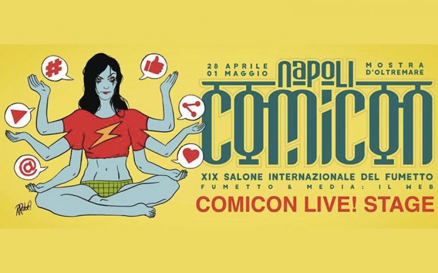 A Napoli arriva il Comicon, Il Salone Internazionale del Fumetto