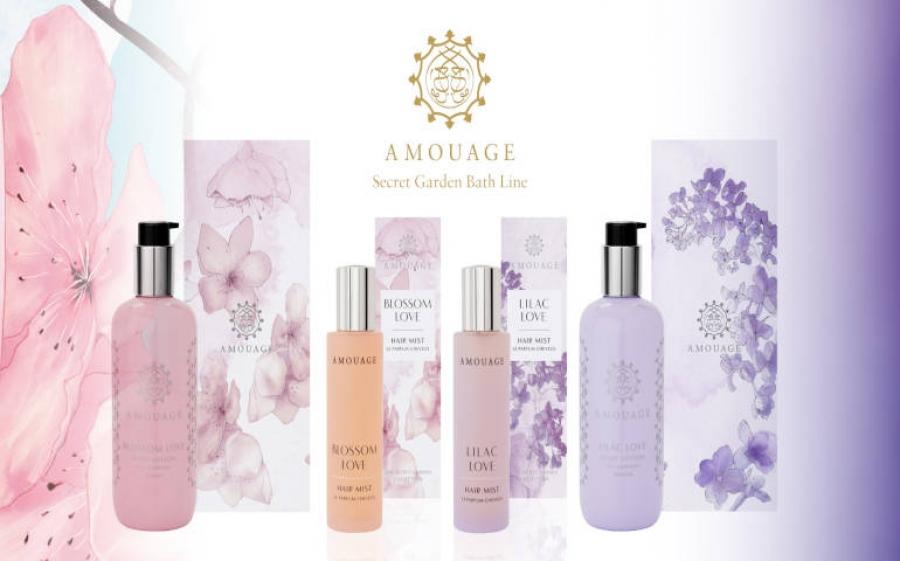 Amouage e la nuova Secret Garden Collection