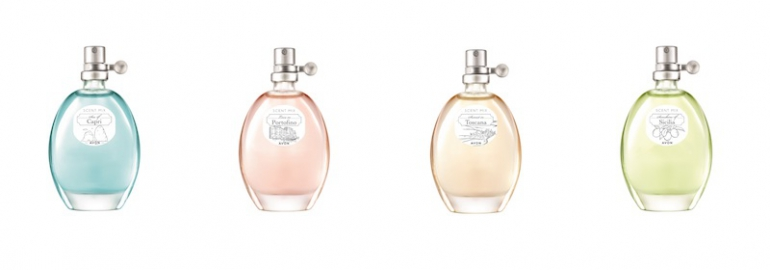 Le nuove fragranze Avon profumano di estate italiana