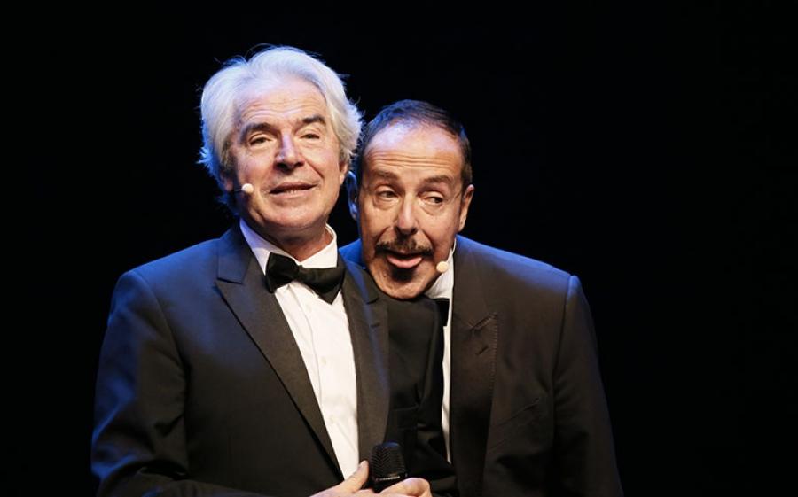 Massimo Lopez & Tullio Solenghi Show in scena al Teatro Manzoni di Milano