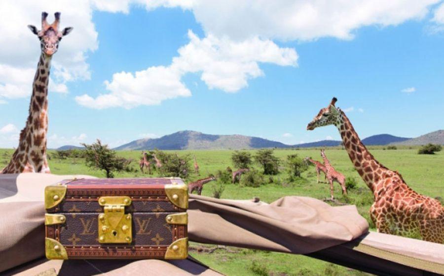 In giro per il mondo... con una Louis Vuitton!