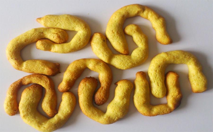 Ricetta biscotti krumiri con nocciole e farina di mais