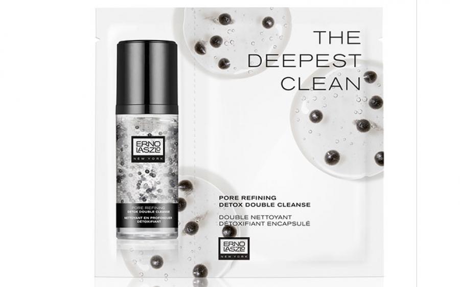 Doppia pulizia con il nuovo trattamento viso di Erno Laszlo