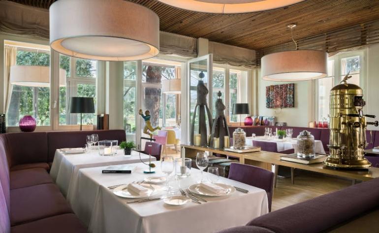 L'Orto Paesaggistico del Ristorante Kitchen sul Lago di Como