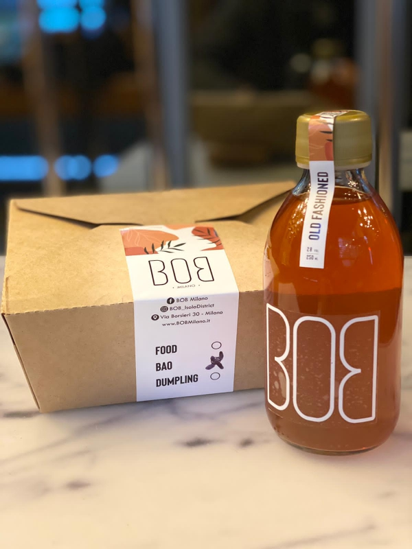 Cocktail e bao cinesi: il delivery di BOB Milano|||