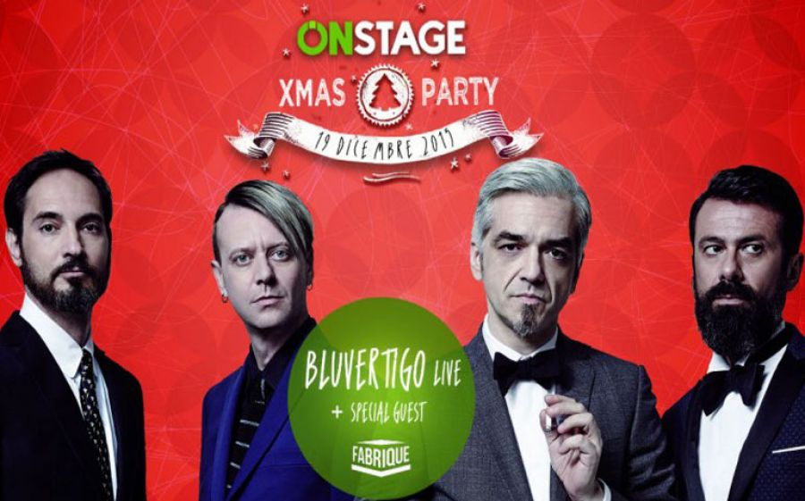 OnStage XMas Party presenta Bluvertigo