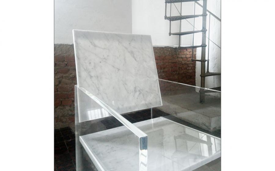 Gli oggetti di design in marmo di Frigerio21 al Fuorisalone 2018