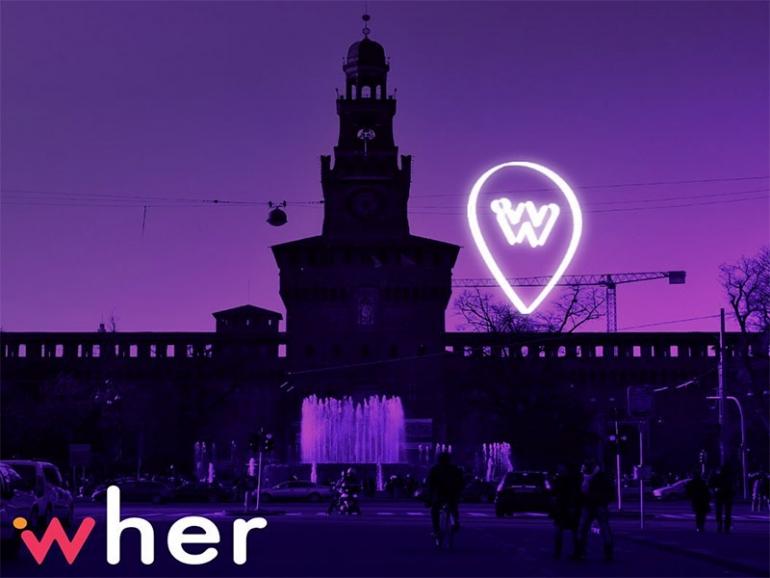 Wher: arriva a Milano l'app navigatore dedicata alle donne