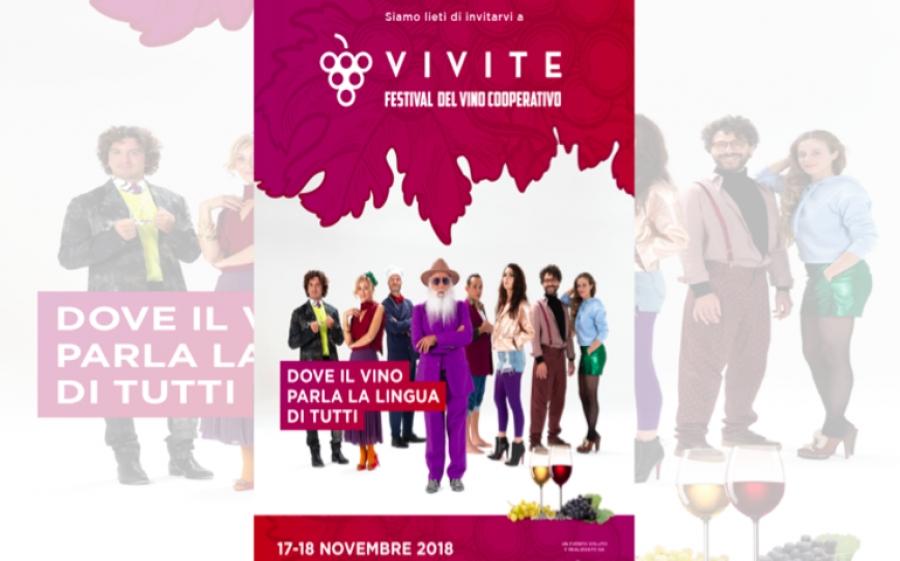 VIVITE ritorna il Festival del vino cooperativo
