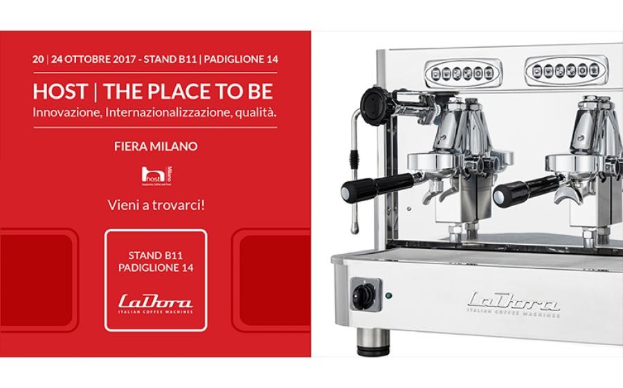 Le macchine del caffè La Dora sbarcano a Host