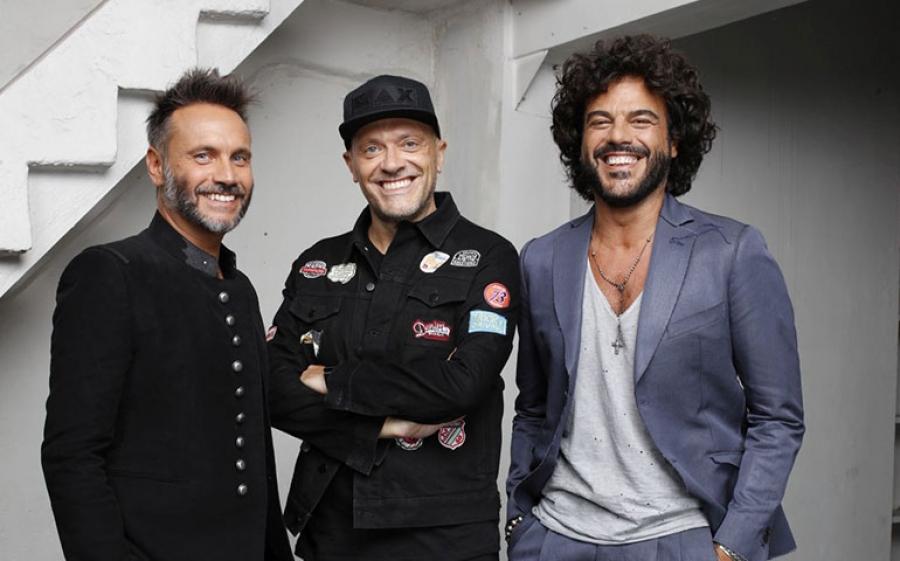 Ritorno live di Max Pezzali, Nek e Francesco Renga - il tour nei maggiori palasport italiani