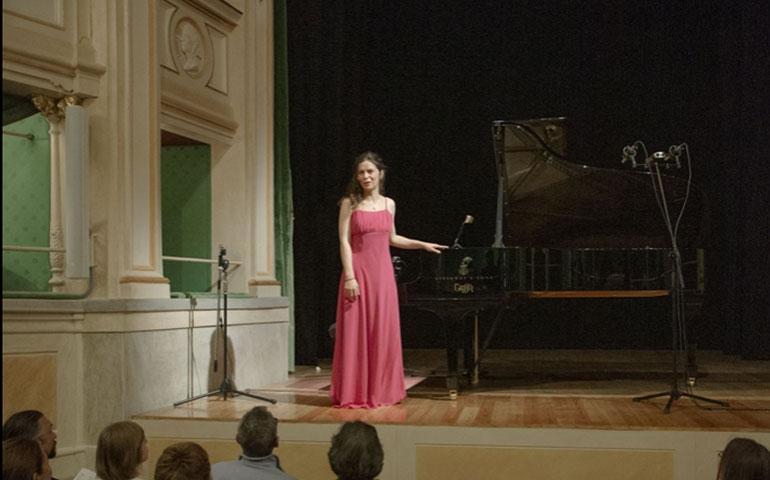 Nella meravigliosa cornice del Festival Piano City, la pianista Alice Di Piazza si racconta a Nerospinto