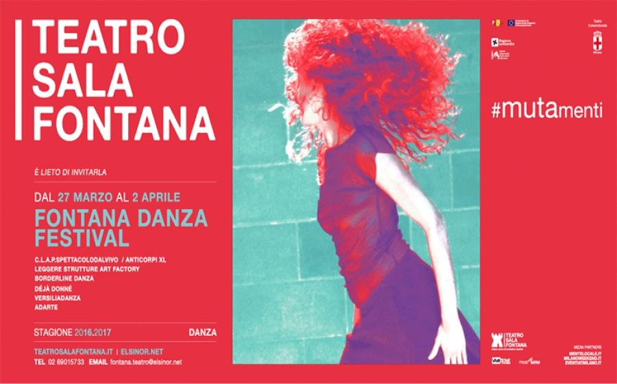 Al via la rassegna di danza contemporanea con il festival Fontana Danza
