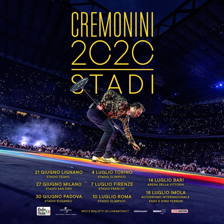 "In uscita ""Cremonini 2C2C The Best Of"": grande raccolta del repertorio di Cesare Cremonini"