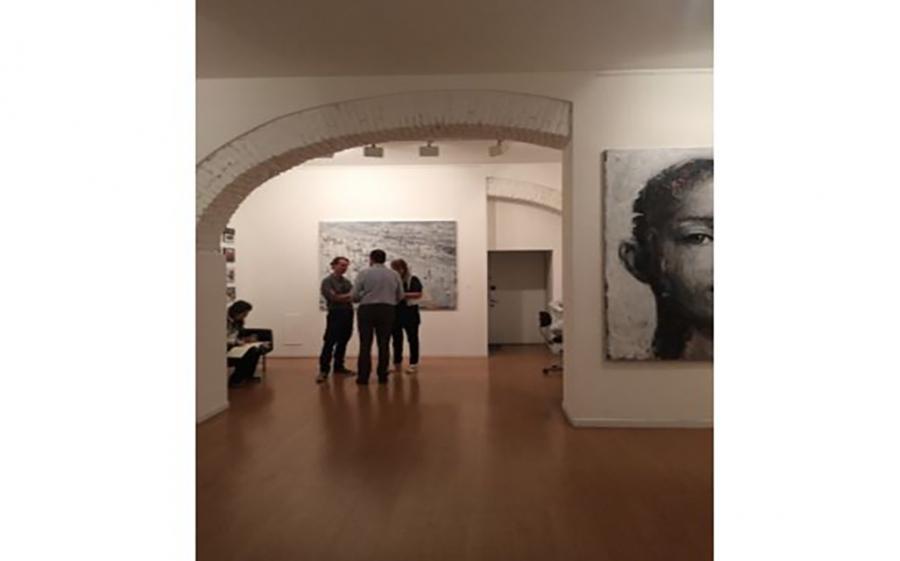 """Galleria Rubin mostra le opere di Christopher Veggetti Kanku:  """" Tratto l'oggi come se fosse ieri"""""""