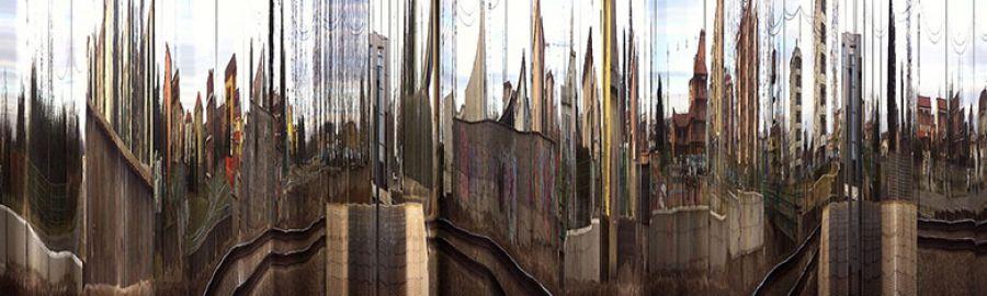 Slitscape: Claudio Sinatti al Museo del Novecento