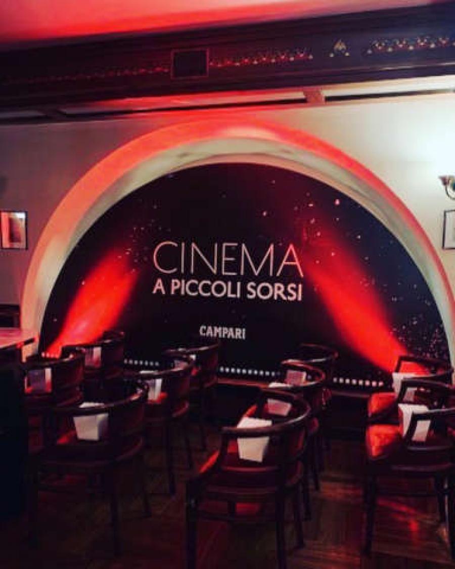 Il Cinema a Piccoli Sorsi del Camparino in Galleria