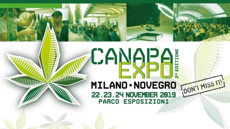 Canapa Expo 2019, dal 22 al 24 novembre a Milano