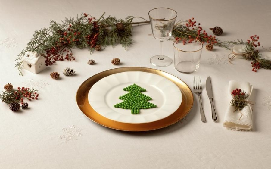 Il menù delle feste si tinge di verde