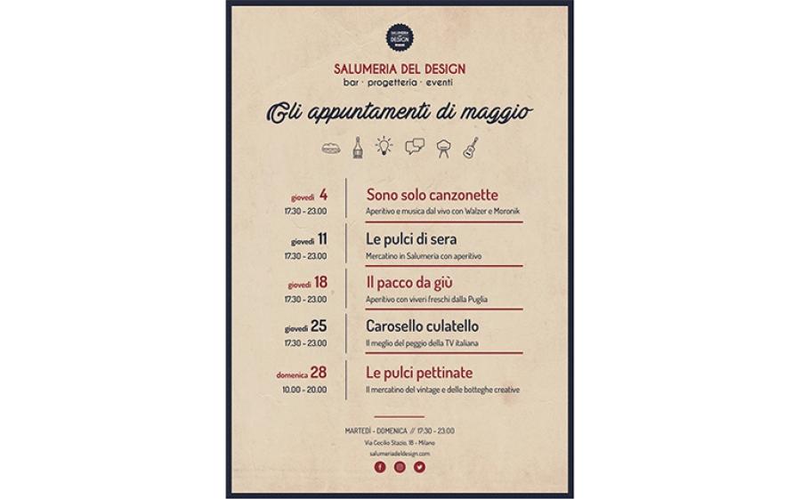 """""""Sono solo canzonette"""": ritornano gli aperitivi musicali alla Salumeria del design di Milano"""