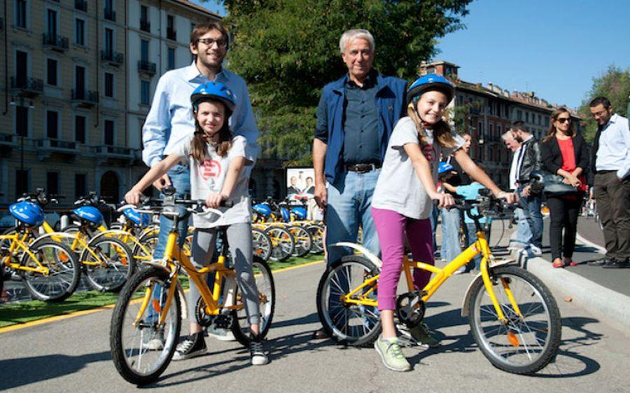 A Milano approdano le Junior BikeMi