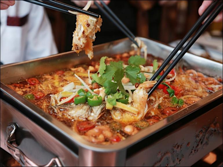Pesce arrosto, una specialità dello chef