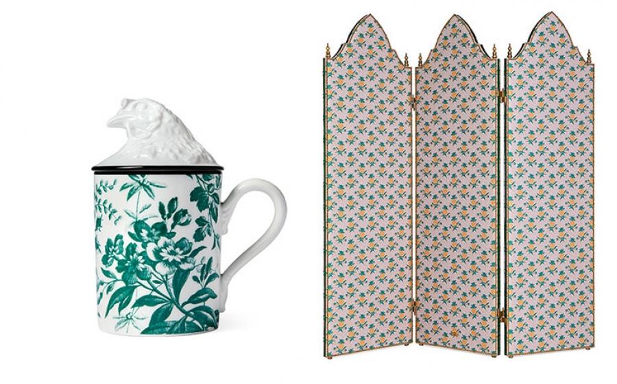 In arrivo la nuova collezione Gucci Décor pensata per la casa firmata dalla maison fiorentina Kering
